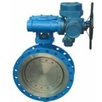 Electric Wafer Style Butterfly Valve Triple Eccentric Design Outdoor Type Manufactures