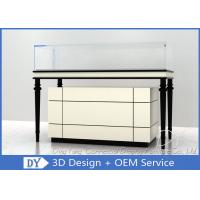 Quality Wooden + Glass Jewelry Showcase Display , Jewellery Showroom Furniture for sale