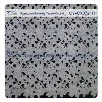 Thick Polyester Charming Allover Fabric Chemical Lace For Lady Garment Manufactures