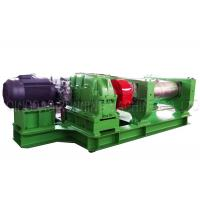 75 Kw 55kw Rubber Open Mill Machine Cast Steel Material With 620 Mm Working Length Manufactures