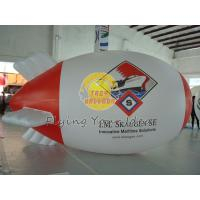 Large Waterproof Filled Helium Zeppelin for Political Election, RC Blimps Balloons Manufactures