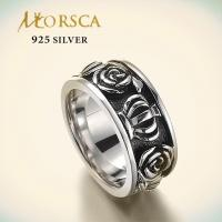 Morsca beautiful cubic zircon fashionable sterling 925 silver ring jewelry Manufactures