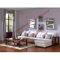 Solid Wooden Frame with Fabric Sectional Sofa in Home Furniture Set Manufactures