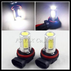 China 7.5W LED fog light bulb 1156 1157 T20 3156 3157 H4 H7 H8 H10 H11 9005 9006 P13W H16W PY24W on sale