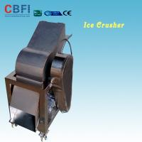 110 - 220V Electric Crush Ice Machine , Ice Crushing Machine 2 Tons Per Hour for sale