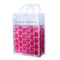 China Picnic PVC 6 bottles wine cooler bags with color liquid , 20x15x18cm on sale