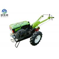 Plough Matched Two Wheel Walking Tractor , Diesel Walking Tractor With Planter Manufactures