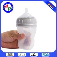 China 2014 BPA free Silicone Baby Bottle for sale