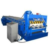 Automatic colored steel roll forming machine with PLC control system for roof, wall Manufactures
