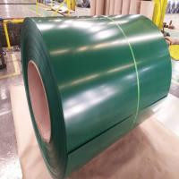 Green Color Coated Steel Coil 0.8mm Cold Rolled 304 SS Coil Construction Manufactures