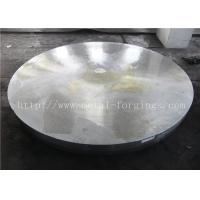F304L Stainless Steel Forged Disc Finish  Machined Standard Or Non-standard Heat Exchanger Pressure Vessel Manufactures