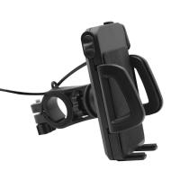 China Universal Adjustable Bicycle Handlebar Mount Charge Holder for Mobile Cell Phone on sale
