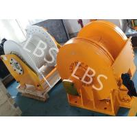 China Small Size Tower Crane Winch / Winch Drum with LBS Groove or Spiral Groove on sale