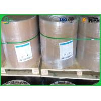 White Grey / Gray Cardboard Paper Roll 1.0mm - 1.5mm Gsm For Box Making Manufactures