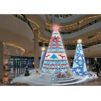 Beautiful Indoor LED Christmas Displays , High Definition Foldable LED Display Manufactures
