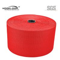 50 Yards / Roll Mushroom Hook And Loop Red Nylon Injection Hook Wide Velcro Tape Heat Resistance Manufactures