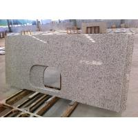 White Granite Kitchen Countertops High Polish For Apartments , SGS / CE Listed Manufactures