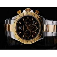 ROLEX DAYTONA CHRONOGRAPH ASIA VALJOUX 7750 MOVEMENT FULL ROSE GOLD WITH BLACK DIALROLEX Manufactures