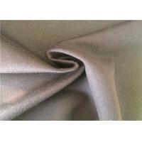 Heavy Weight Warm Woven Wool Fabric Customized Size Wool Crepe Fabric F001F Manufactures