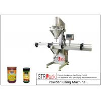 10g-5000g Linear Automatic Powder Filling Machine 50 BPM Speed With 25L Hopper Manufactures