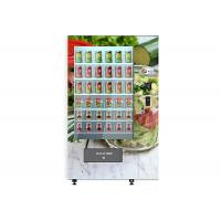 Smart Cake Yogurt Salad Vending Machine With Wooden Outlook / Elevator System Manufactures