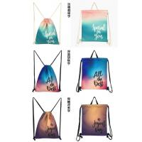 Colorful Sport Drawstring Bag Customized Logo For Basketball Storage Manufactures