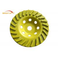 Wet Grinding 80mm Grinding Cup Wheels For Hard Granite And Engineered Stone Manufactures