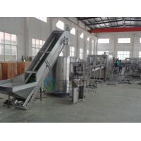 China Automatic Beverage Manufacturing Equipment / Square PET Bottle Unscrambler on sale