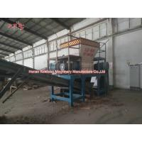 Low Speed Household Garbage Shredder For Power Station Square Round Bale Hay Manufactures