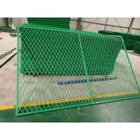 China Galvanized BTO22 2.5mm Welded Razor Wire Mesh Fence on sale