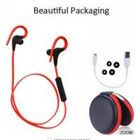 CSR 4.1 Sport Bluetooth Earphone Weatproof  With Mic Secure Ear Hooks 50mah Manufactures