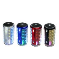 Mini Portable Wireless Bluetooth Speaker T-2096A With FM radio mic Handsfree Led lights Manufactures