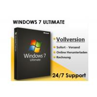 Microsoft Windows 7 Professional Upgrade Key , Windows 7 Coa Sticker Retail Box Package Manufactures