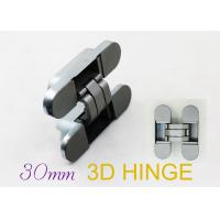 180 Degree Hinges Three Way Concealed Adjustable Door Hinges For Interior Flush Doors Manufactures