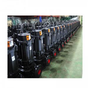 Vertical Inline Cast Iron Sewage Pump High Pressure Capacity 15m3/H Black Manufactures