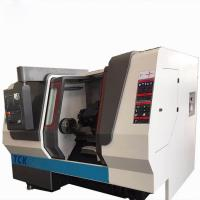 Horizontal CNC Lathe Machine / Turning Metal Lathe Slant Bed CNC Center Manufactures