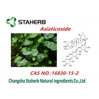 Centella Asiatica Extract / Pure Natural Plant Extracts Asiaticosides Powder Manufactures