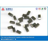 YG8X Tungsten Carbide Saw Tips Various type for stone cutting tools Manufactures