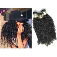 Afro Kinky Curly Raw Indian Virgin Hair Extension Natural Shine And Luster Retained
