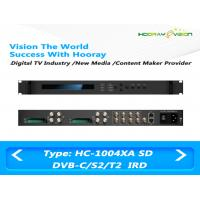 ASI IP Output Digital TV Satellite Receiver 4-Tuner 4 CAMs/CIs support DVB-C DVB-S2 DVB-T2 Manufactures