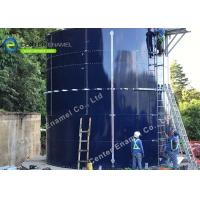 Good Corrision Resistance Glass Fused To Steel Waste Water Storage Tanks Size Expandable