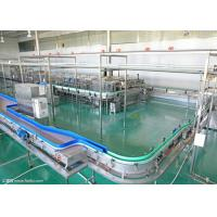 China Carbonated Beverage Production Line , Aluminum Cans Beverage Making Equipment on sale