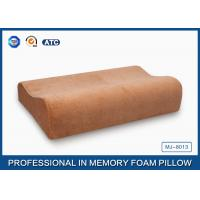 Natural Silent Night Memory Foam Contour Pillow Soft Bamboo Cover For Home Bedding Manufactures