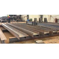 Welding Carbon Structural Steel H Beam Fabrication H-section Steel Manufactures