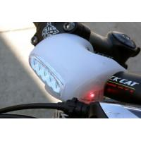 electronic silicone bike light with handle Manufactures