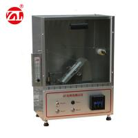 Three Types Flammability Tester Of Fabric In Vertical Direction Manufactures