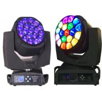 China 15w LED Moving Head Light  19 X 12w / 15w 4-In-One Led Bee Eye Led Moving Heads wholesale