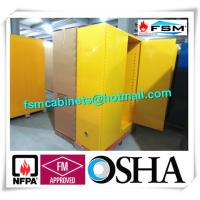 Venting Industrial Safety Cabinets , Flammable Goods Storage Cabinets Manufactures
