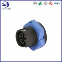 China Middle series male and female Led Waterproof connector for industrial wire harness on sale