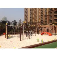 Quality LLDPE Plastic Outdoor Fitness Equipment For Park ASTM Certificate for sale